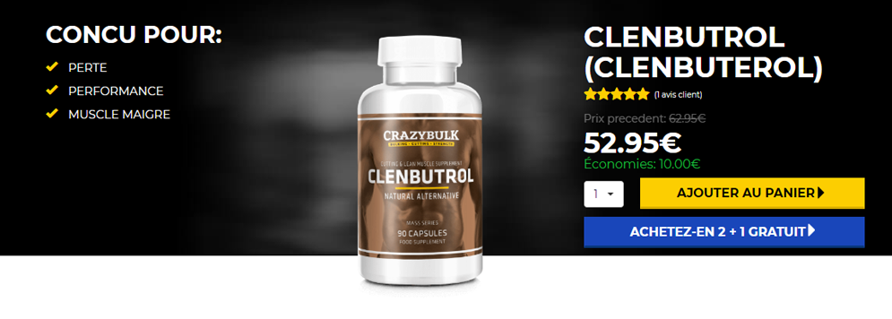 Buy Clenbuterol in France